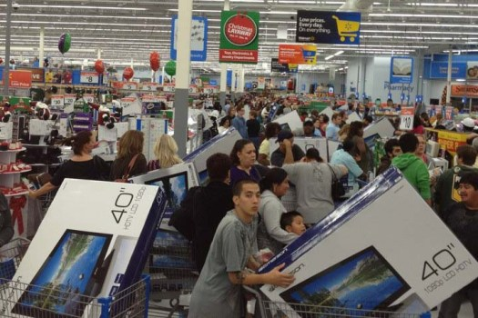 black-friday-at-wal-mart